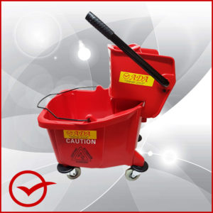 Mop and Bucket - Red