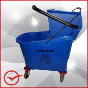 Mop and Bucket - Blue