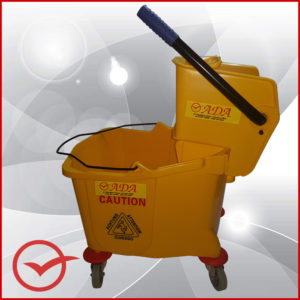Mop and Bucket - Yellow