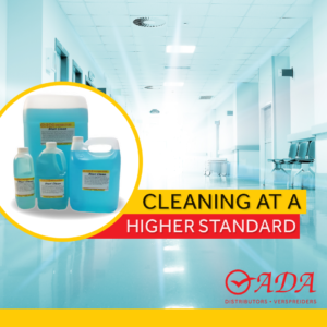 Cleaning at a higher standard - Steri Clean.