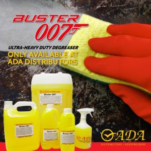 Buster 007 - Ultra Heavy-duty Degreaser - Only available at ADA Distributors
