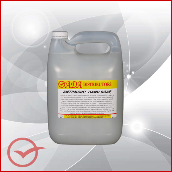 Antimicrobial Hand Soap 5L